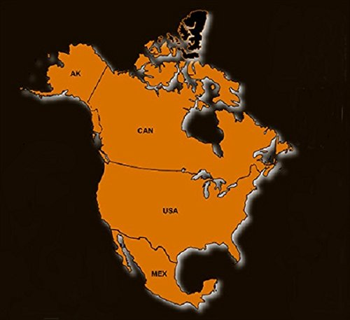 North America GPS Map 2019 for Garmin Devices on maps for tomtom, maps for blackberry, maps for humminbird, maps for hp, maps for gps,