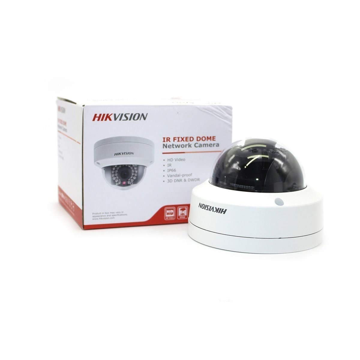 12mm HIKVISION DS-2CD2132-I 3 MP Vandal Dome Network Camera//PoE//IP66