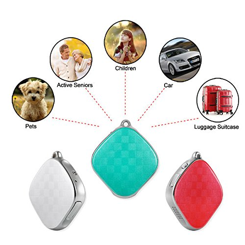 Hangang GPS Tracker Mini Safety locator Micro A9 Wifi Positioning Tracker  Multifunction tracker Locator GPS+LBS Dual Modes Locating Device Tracking