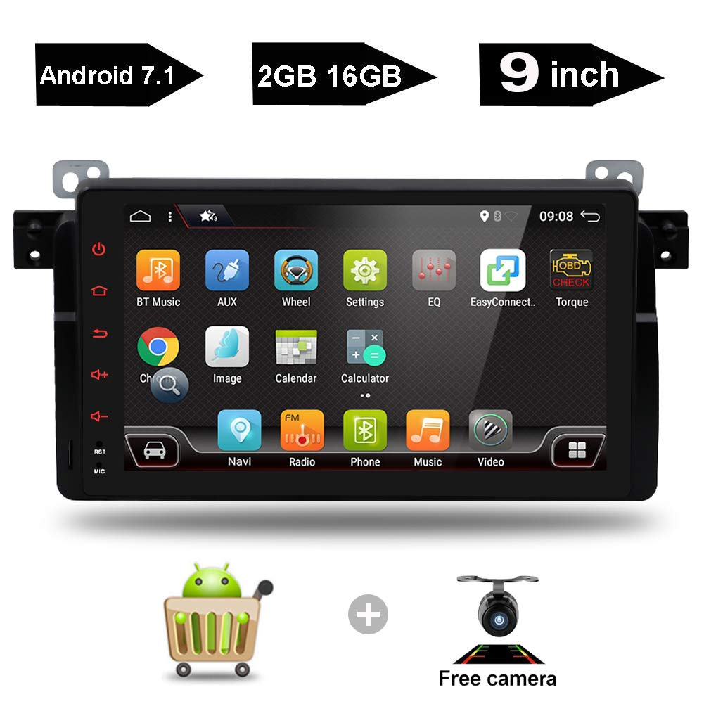 9 Inch Android 7.1 GPS Navigation Capacitive Multi-Touch