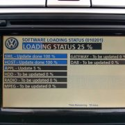 FIRMWARE Update v15 V5238 for Volkswagen VW Skoda RNS510 Navigation Radio