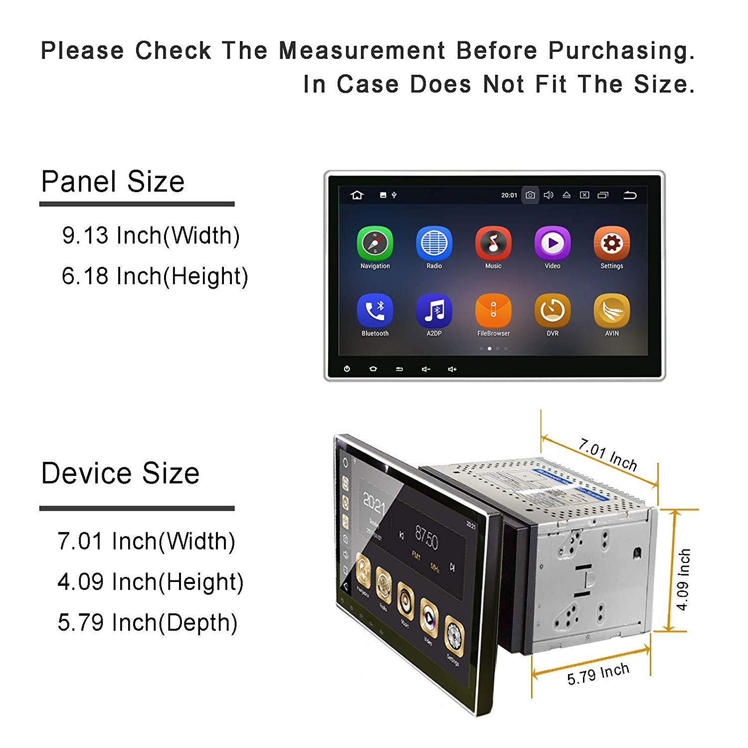 T-One 10 1 Universal Car Stereo,PX3,4 Core,RAM 2GB,ROM 16GB,Android 7 1  Aftermarket Radio,Double Din Soundstream Car Stereo, Bluetooth 4 0,10 1  Large