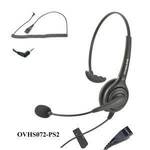Discover D712 Corded Cisco Headset For Cisco 6921, 6941, 6945, 6961