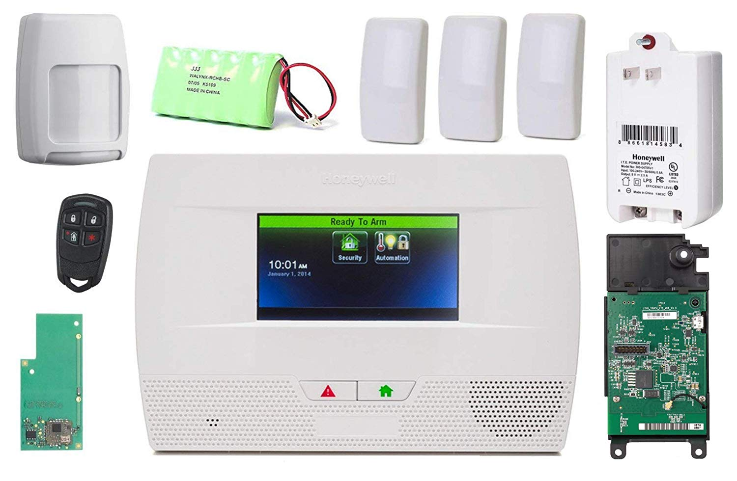 F24 IOS//Android APP WiFi IP Internet Wireless Home Security Alarm Burglar System