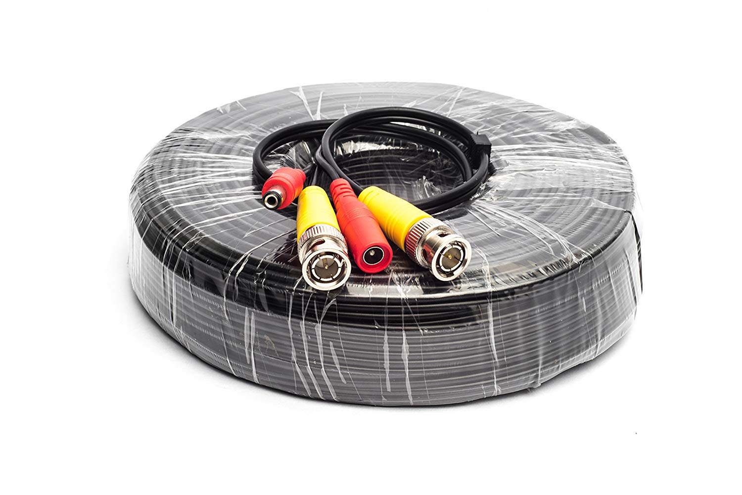 200 Feet BNC Video DC Power Siamese Cable for CCTV Surveillance Camera System
